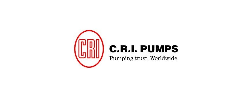 Pompe CRI PUMPS - Immergée Surpresseur Relevage | DistribuTech